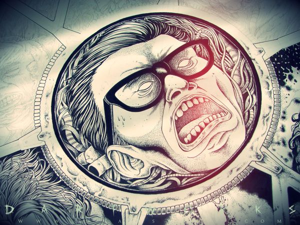 How about turn the whole world in to metal? on Behance