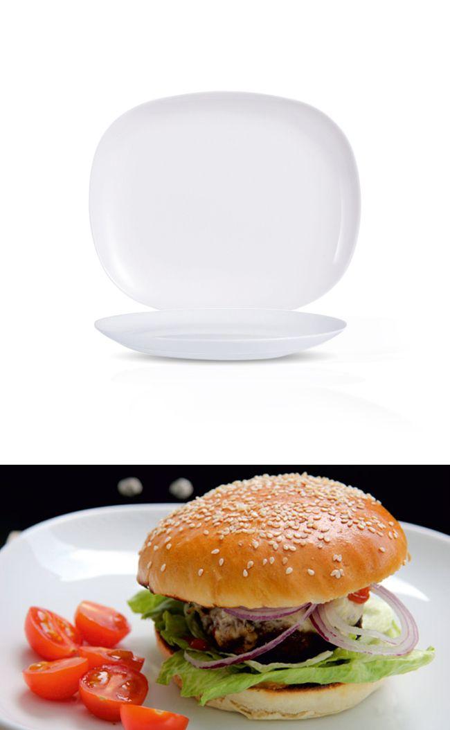 Talerz do burgera, 280x230 mm | ARCOROC, Burger