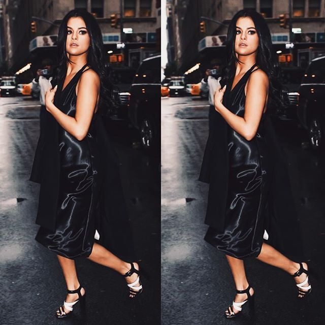 What a woman. #SelenaGomez #luxe #outfit