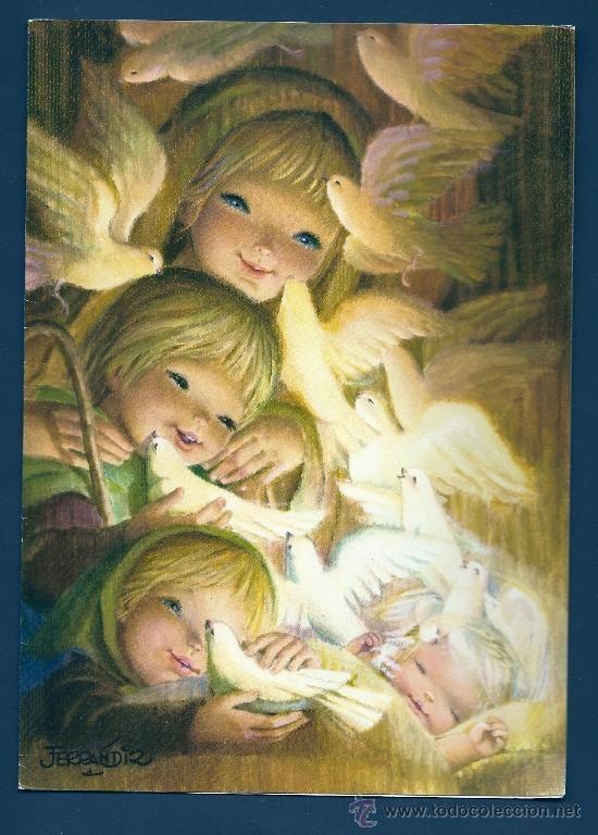 Niños y palomas - Ferrándiz 1970: