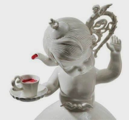 Best Maria Rubinke Images On Pinterest Ceramic Sculptures - Amazingly disturbing porcelain figurines by maria rubinke