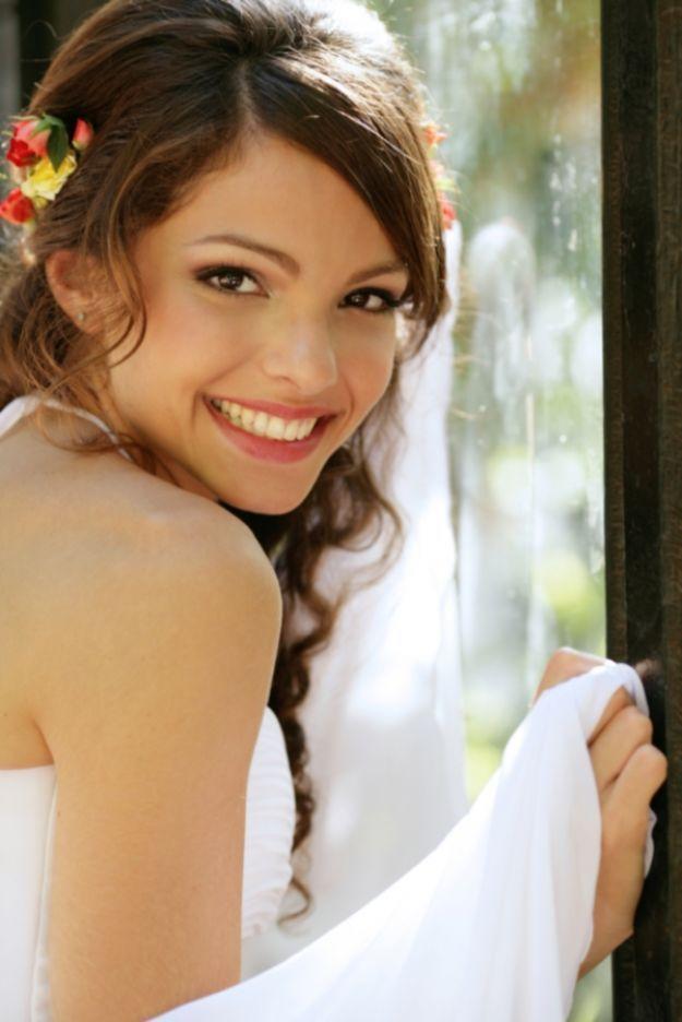 Трогательный свадебный макияж для карих глаз ::: onelady.ru ::: #makeup #eyes #eyemakeup