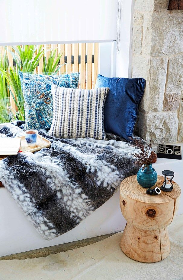Be inspired by Home Beautiful's winter style transformation with finds from Bed Bath N' Table