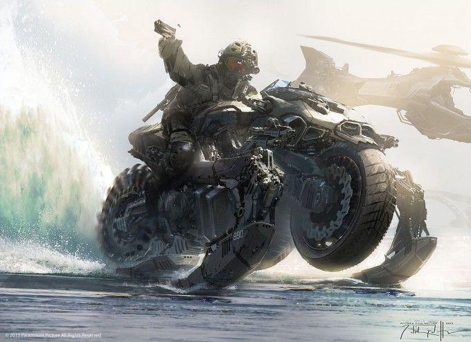 G.I. Joe: Retaliation Concept Art by Patrick Faulwetter