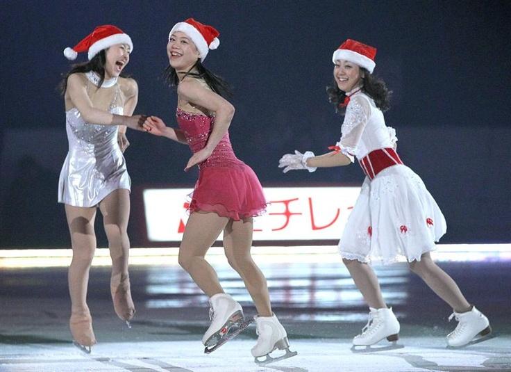 Merry Christmas, Japan! 浅田ら華麗な舞い  フィギュア・エキシビション - MSN産経フォト