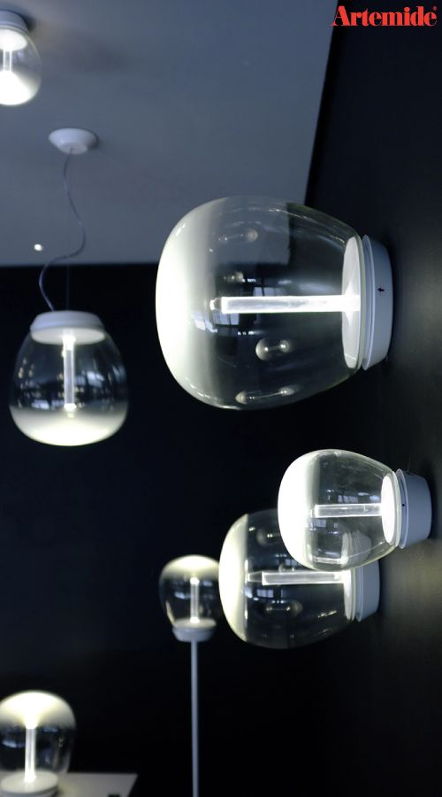 #Empatia embodies perfectly the union between tradition and innovation, between the great glass-blowing Italian savoir-faire and the LED technology of Artemide. The entire #Empatia Family is in this single image: The floor light ► http://bit.ly/Empatia_F The ceiling / wall versions ► http://bit.ly/Empatia_C-W A suspension ► http://bit.ly/Empatia_S And a table lampe ► http://bit.ly/Empatia_T #design Carlotta de Bevilacqua & Paola Monaco di Arianello