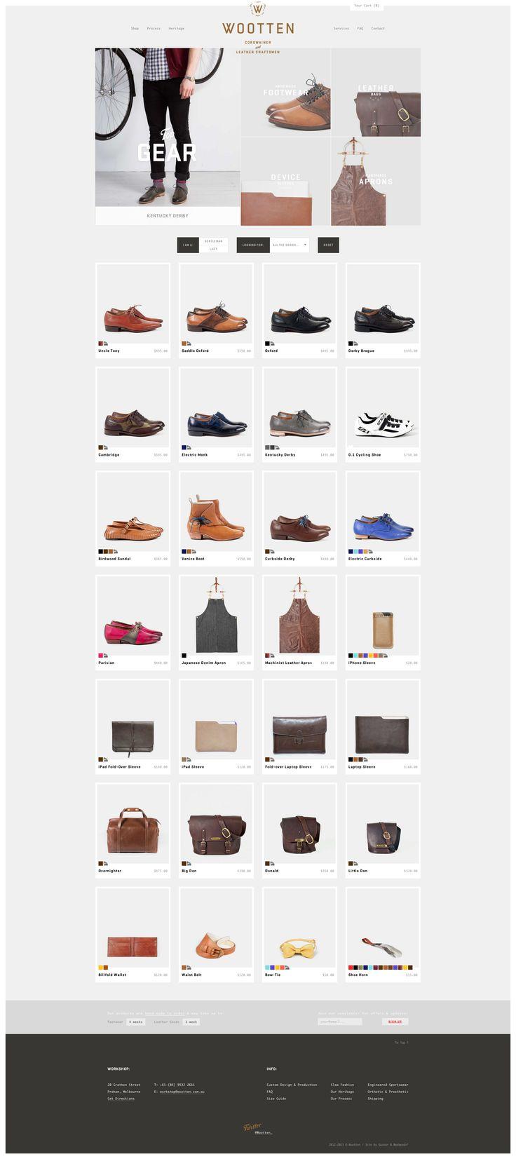 #websitedesign #webdesign #ecommerce #shop #fashion #footwear #shoes #grid #filters