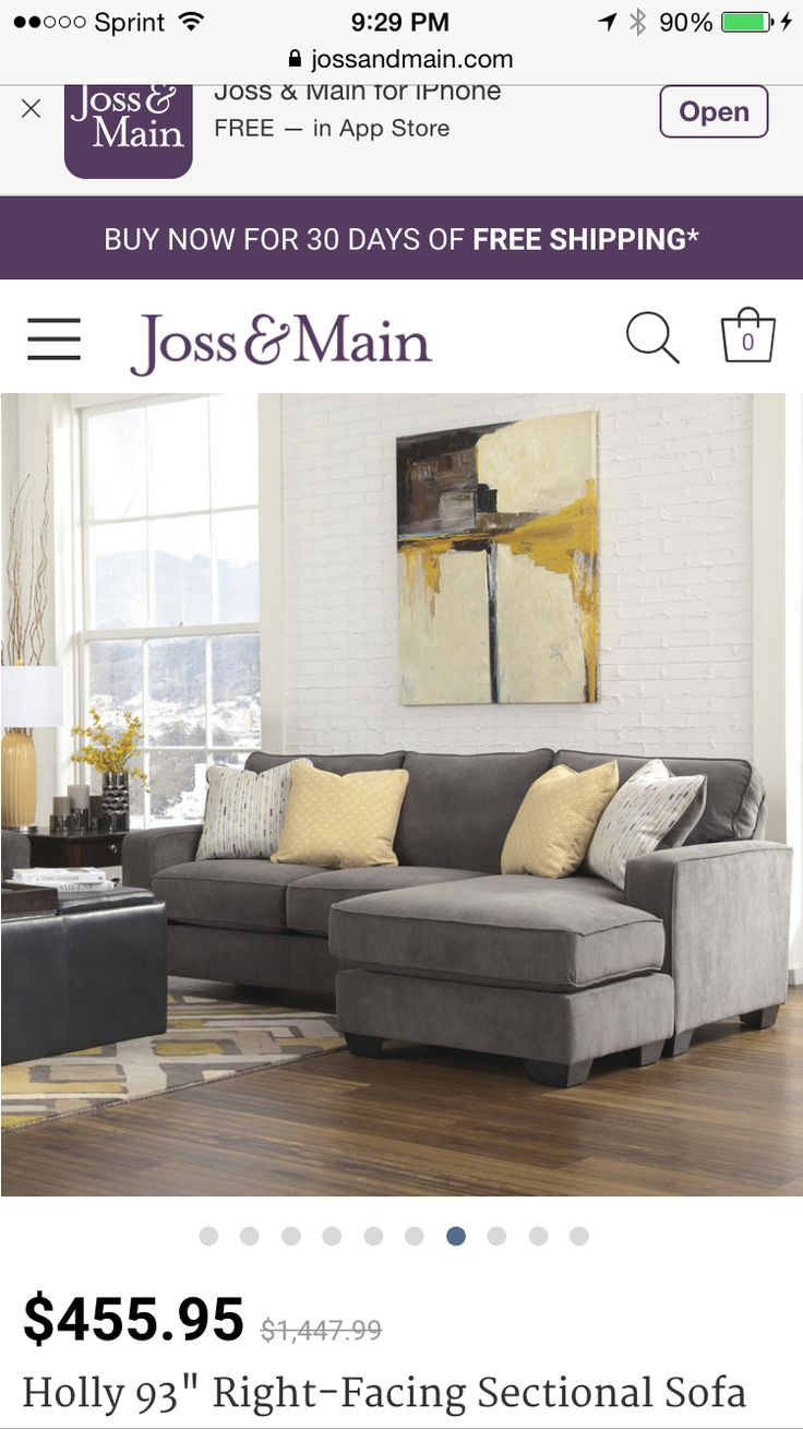 Found it at Wayfair - Signature Design by Ashley Hollins Sofa with Chaise
