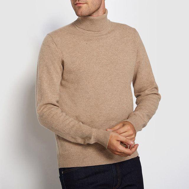 Pull col roulé 100% laine lambswool R essentiel