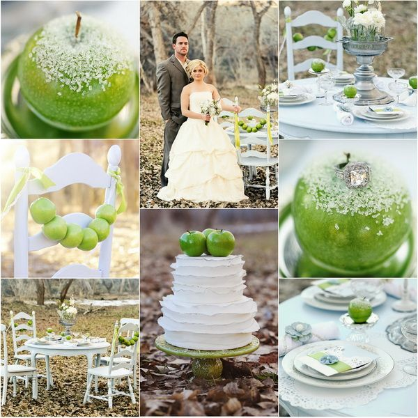 104 best green apple party ideas images on pinterest table green apple wedding ideas junglespirit Image collections