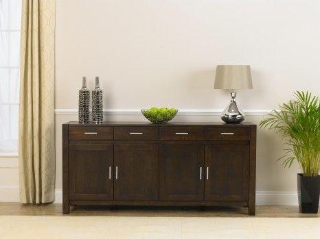 Verona Dark Oak Extra-Large Sideboard