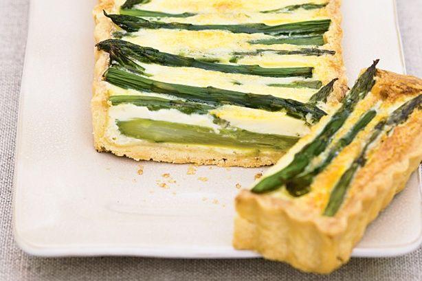 Asparagus And Gruyere Tart Recipe - Taste.com.au