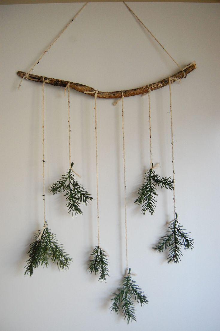 diy minimaler Weihnachtsdekor