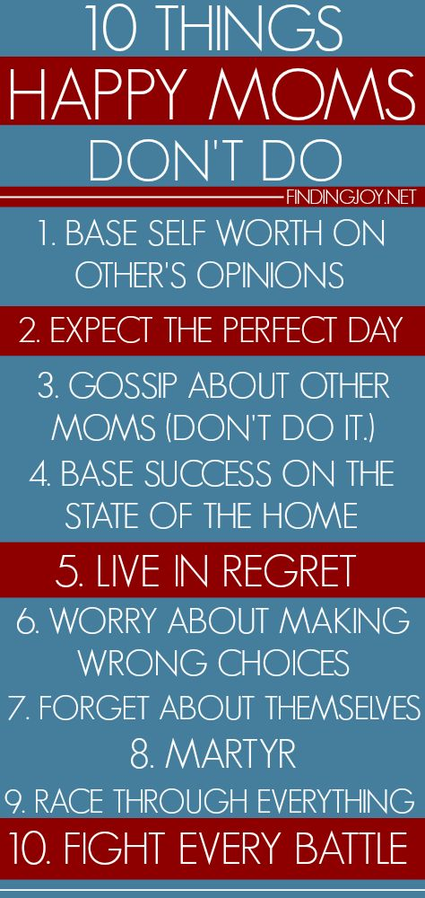 Not Doing These Ten Things Could Change Your Life Finding Joy Motherhood Pinterest Hy Mom Paing And