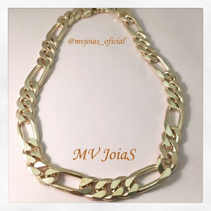 Corrente de Prata Masculina  www.mvjoias.com.br #corrente #prata #masculina #DiaDosNamorados #shopping #silver #forman #forhim #atacado #varejo #joias #jewelry #fashion #instafashion
