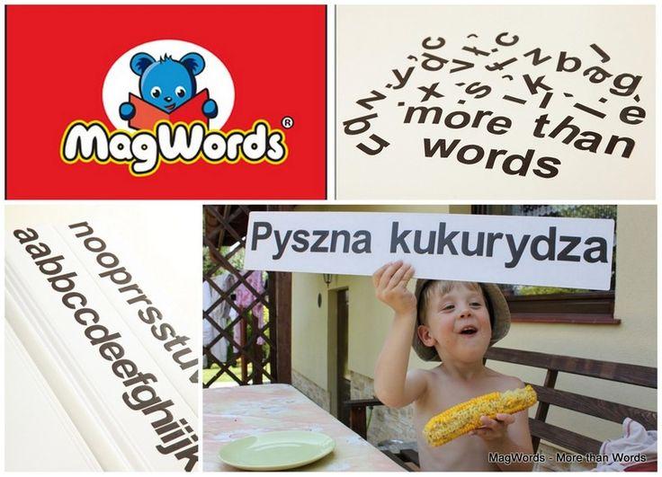 Czarne 5 cm #Literki Magnetyczne #dlaDzieci - 35 + 10 szt w MagWords - More than Words na DaWanda.com #Letters #Buchstaben #Magnets #alfabet