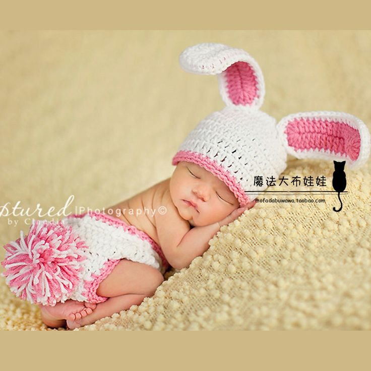 Spring bunny ears stereolithography winter hat baby pictures bab omg love but In blue and white