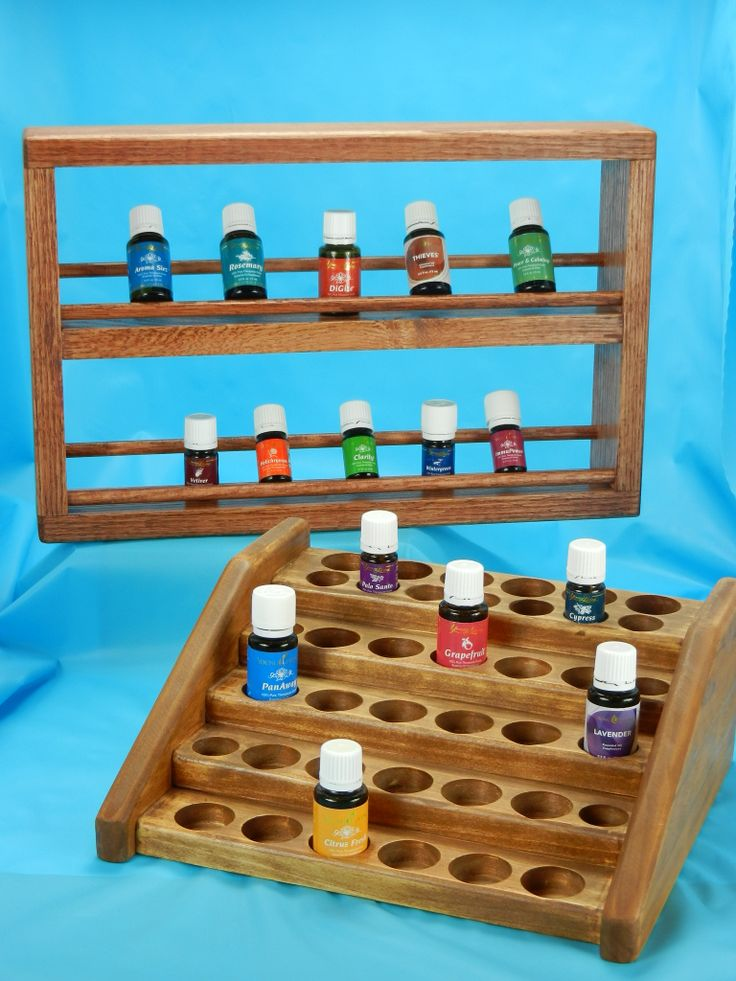 Display Your Rack ~ Best images about wooden essential oil holder display