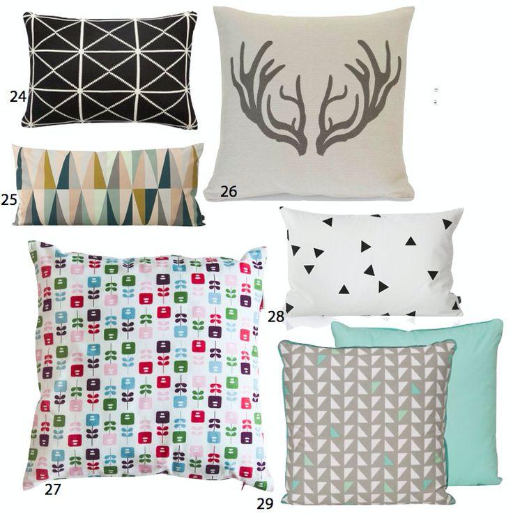 coussin scandinave d coration salon blog d co coussin. Black Bedroom Furniture Sets. Home Design Ideas