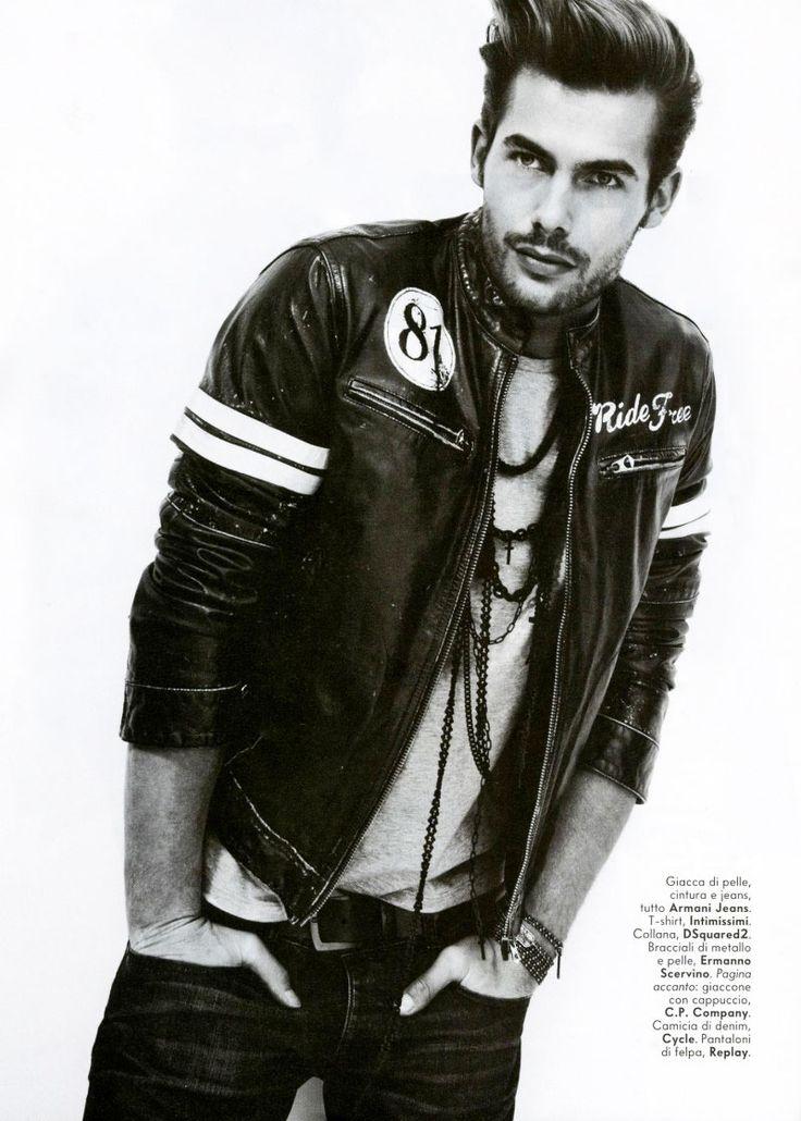 Jacey Elthalion / Male Models, Men's hair