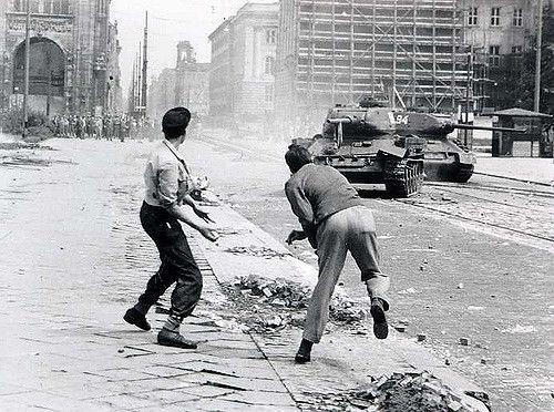 17 Juni 1953.. Leipziger Straße