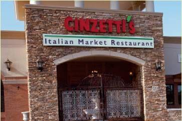 OVERLAND PARK, Kansas - Cinzetti's