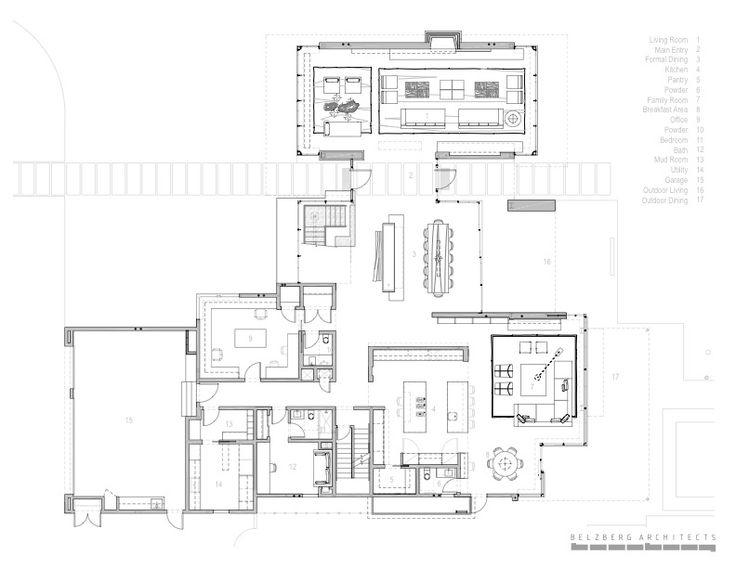 Brentwood Residence / Belzberg Architects | Architects, Interior ...