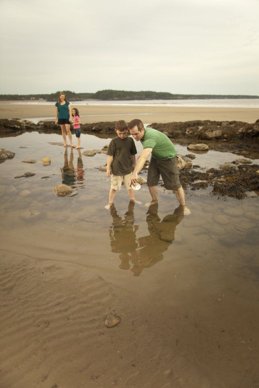 You never know what little sea creatures might be hiding in the waters at New River Beach Provincial Park. Explore the tide pools for endless surprises.
