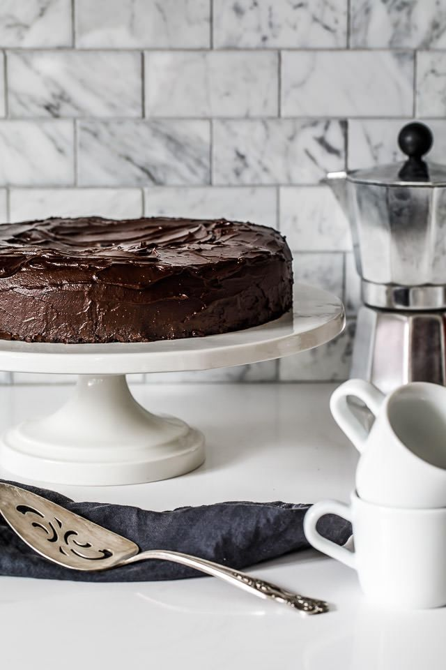 fudgy chocolate-hazelnut cake | 1BigBite