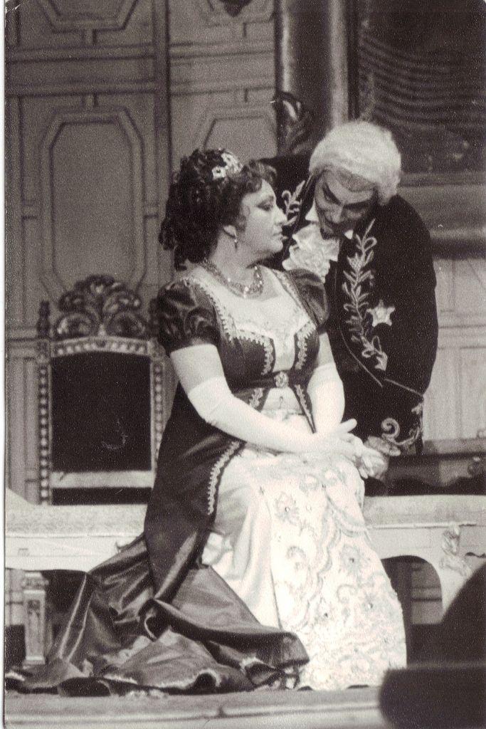 Great Romanian soprano Maria Slatinaru Nistor & baritone Dan Serbac -Tosca
