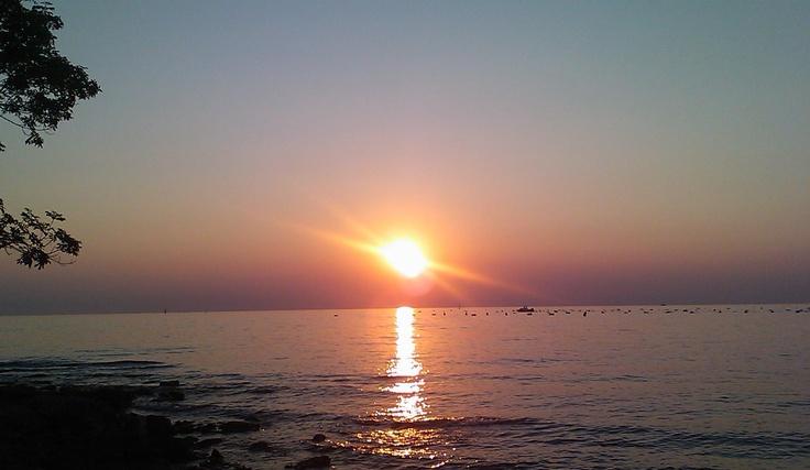 Tramonto sull'Adriatico