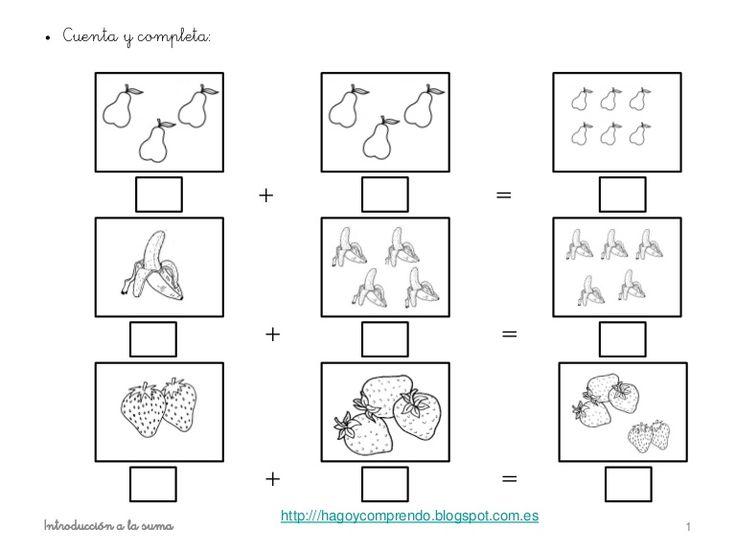 Fichas sumas http://www.slideshare.net/eilinc1978/sumas-horizontal ...