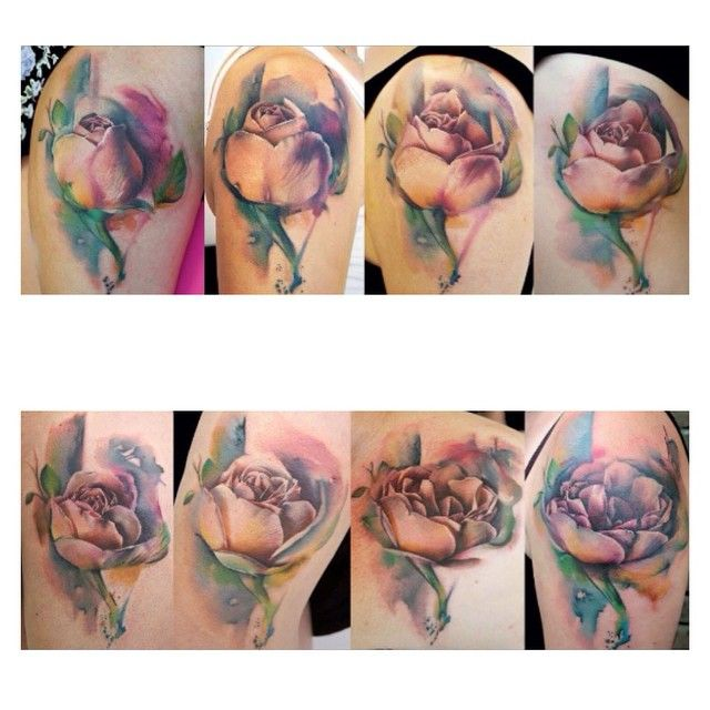 The Rose Project I made a time lapse video of a rose opening then tattooed 8 different stages on 8 different ladies. Check out the video on my Facebook page which the awesome photographer and film maker @fountainfotos78 helped me to make. Thank you Mary, Miriam, Jennifer, Loren, Kate, Sheridan, Vicky and Rachael for making this happen