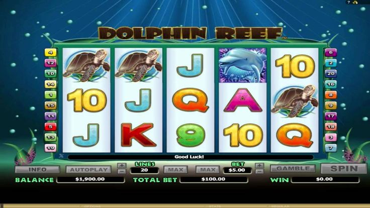 FREE Dolphin Reef ™ slot machine game preview by Slotozilla.com
