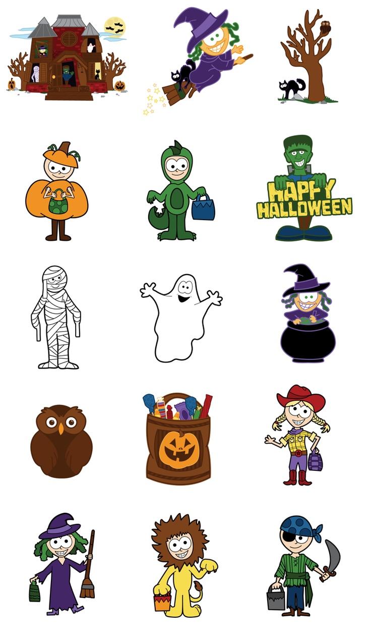 Halloween decoration clipart - Halloween Clipart