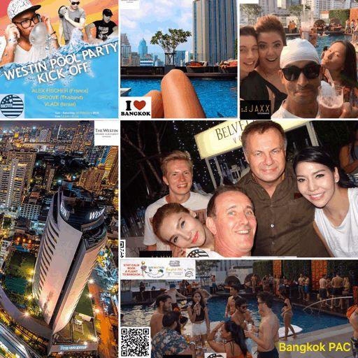 Westin Pool Party Kick off - Bangkok SM Hub