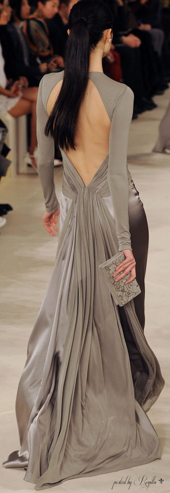 Ralph Lauren; I would never have anywhere to wear this dress, but it is GORGEOUS!!