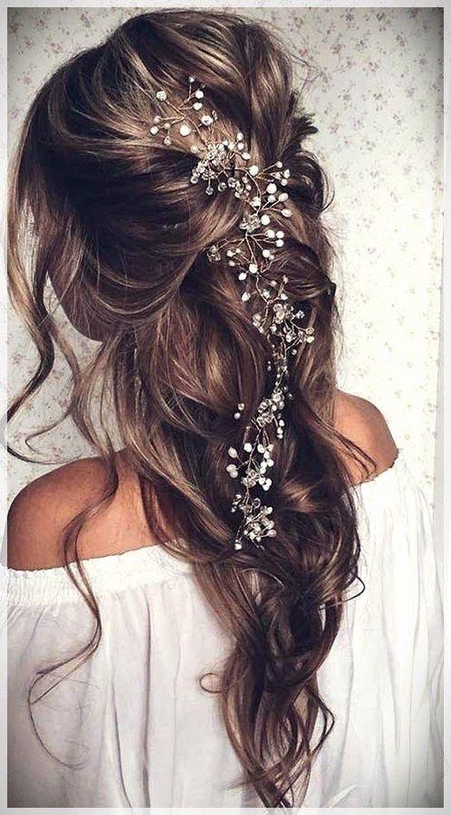 hääkampaus pitkät hiukset