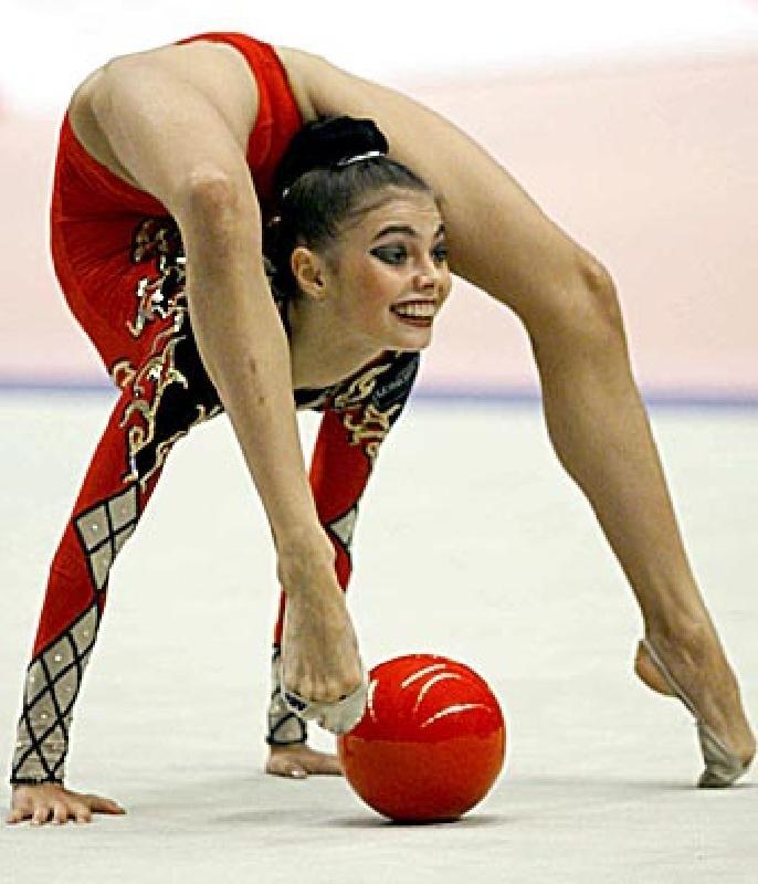 Gymnastics Scorpion Handstand