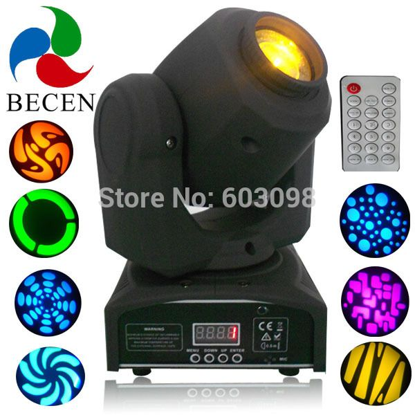 10W controller led dmx gobo moving head light remote control-in Professional Audio, Video & Lighting from Electrical Equipment & Supplies on Aliexpress.com   Alibaba Group