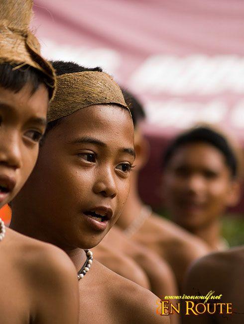 Mangyan tribe, Philippines