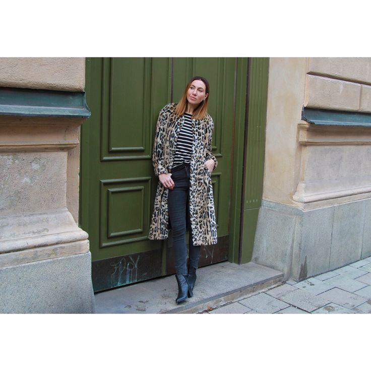 Emma Danielsson in Leona faux fur