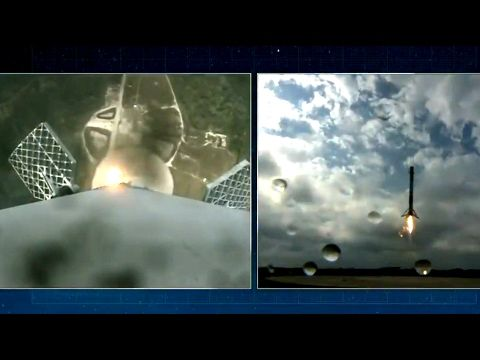 SpaceX News | Falcon-9 delivered Dragon to ISS and successfully landed o...