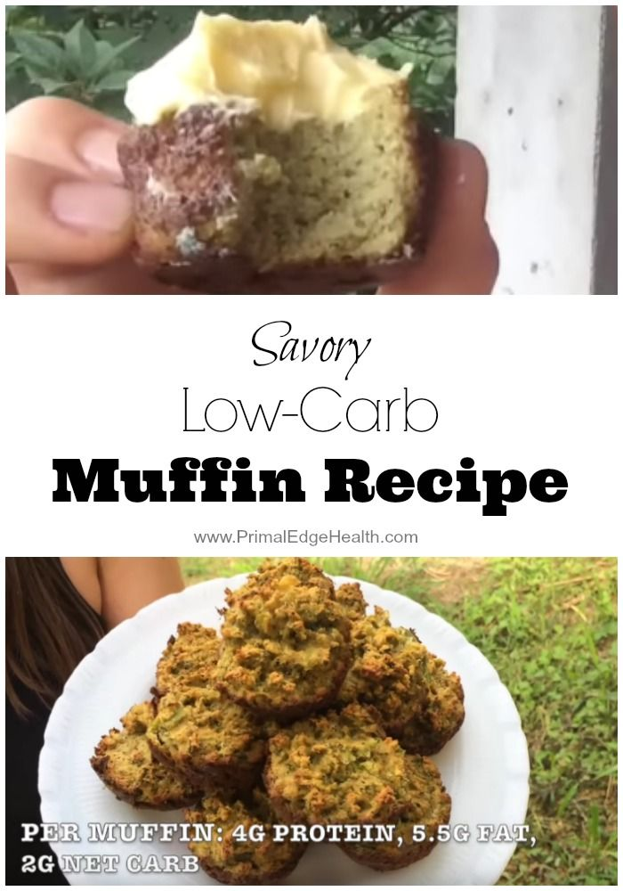 Savory Low-Carb Vegetable Muffin Recipe  Oro Gal's note: try also as muffin tops!