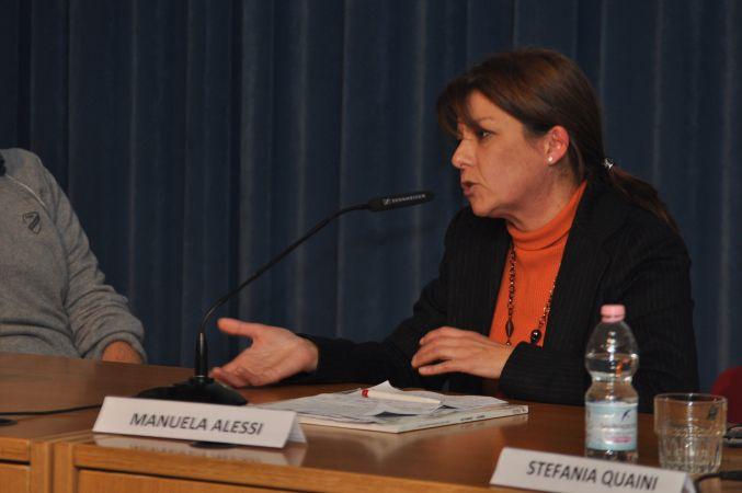 """Conferenza """"Architetti in Prospettiva"""" : Segretario Segretario Nazionale presso GIARCH, arch. Manuela Alessi"""
