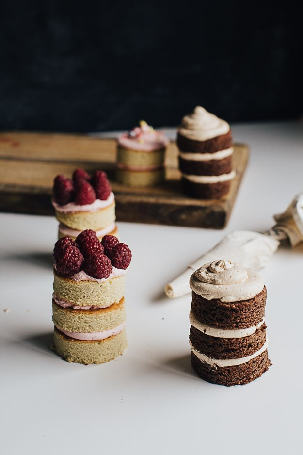 Mini Layer Cakes - erin made this