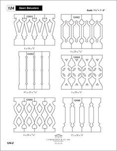 flat sawn balusters - Google Search