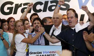 RN POLITICA EM DIA: OPOSIÇÃO VENCE ELEIÇÕES LEGISLATIVAS NA VENEZUELA....
