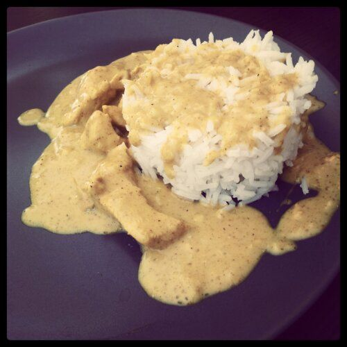 Poulet coco/curry (au Thermomix)
