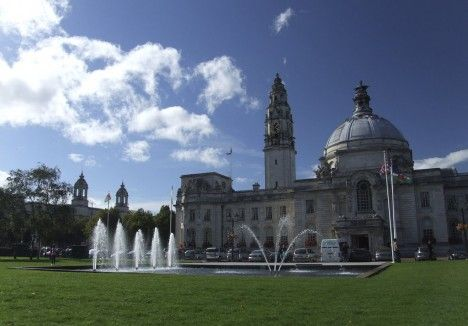 Cardiff City Hall, One of my old offices while working for visit Cardiff